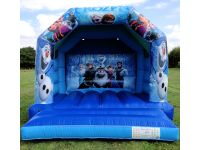 Frozen Bouncy castle hire in southport