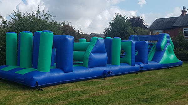 Inflatable slide castle hire southport